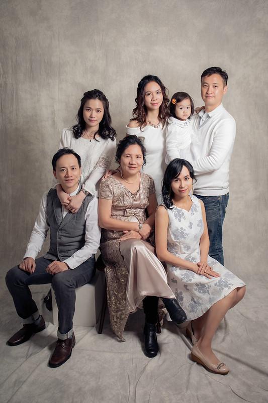 全家福攝影,全家福寫真,媽媽生日,紀念照,全家福合照