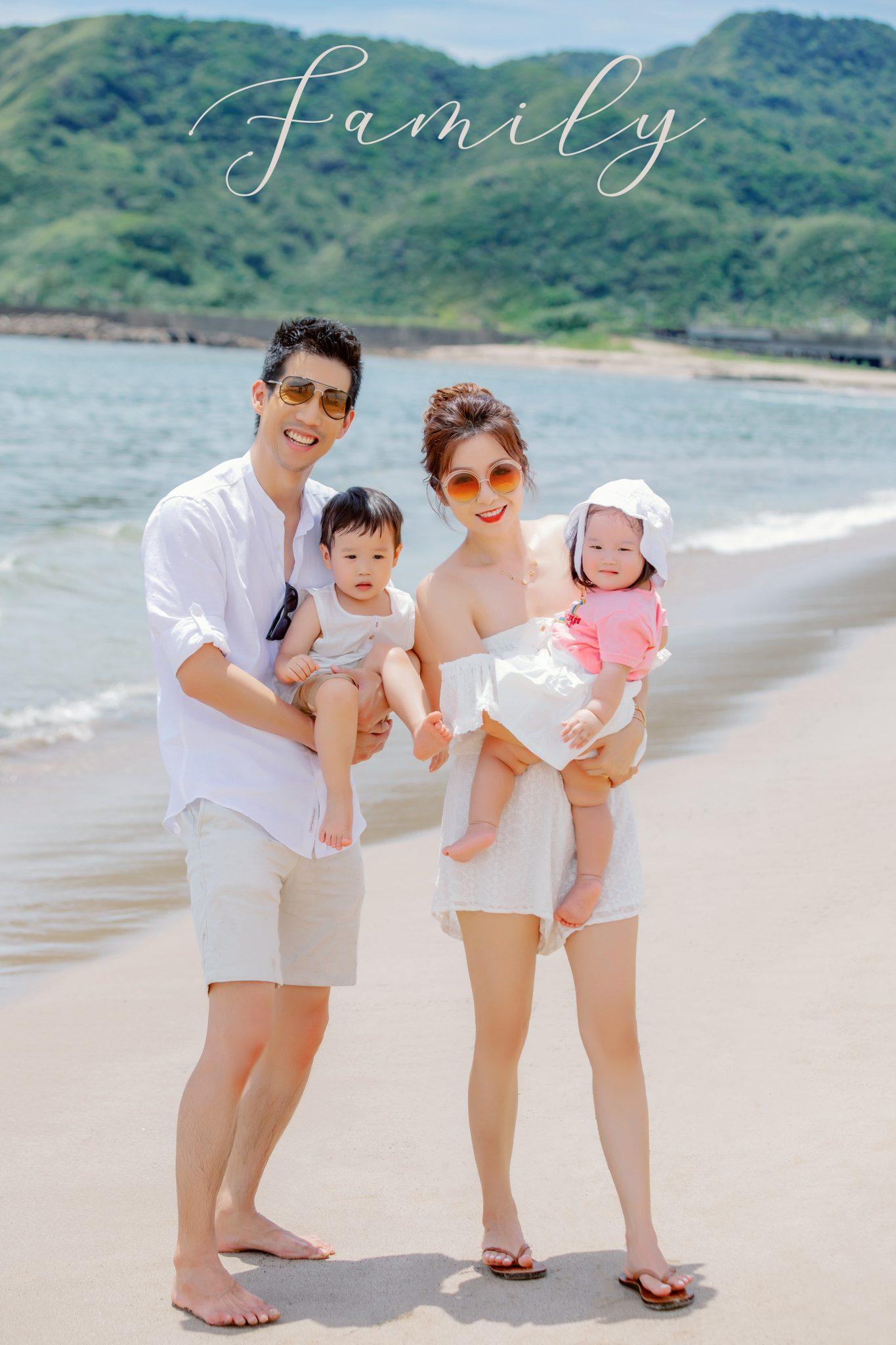 親子寫真,全家福攝影,台北全家福攝影,親子攝影推薦,海邊親子照,親子照,兒童寫真,生日寫真,全家福作品,appleface臉紅紅攝影